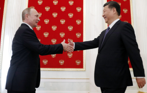 Putin and XI Jinping in the Kremlin to discuss issues of international security
