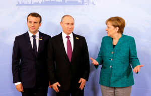 Putin, Merkel and macron discussed the situation in Ukraine and ways of its settlement