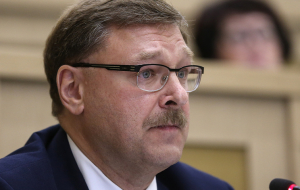 Kosachev: no trades on the buildings of diplomatic missions of the Russian Federation in the United States can not be
