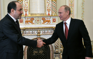 Putin will meet with the Vice President of Iraq Nouri al-Maliki