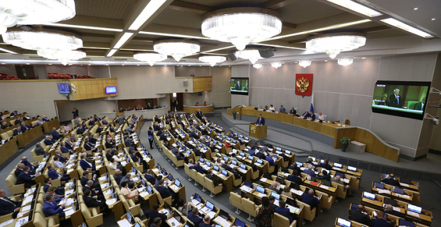 The state Duma of the seventh convocation adopted 354 of the law in the first two sessions of their work