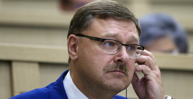 Kosachev called cynical by the United States of conditions for returning of Russia of departmenti